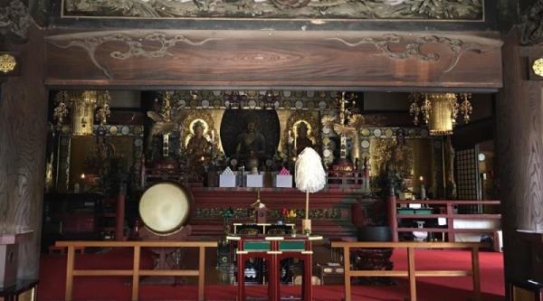 喬陽老師參訪日本三寶佛神社