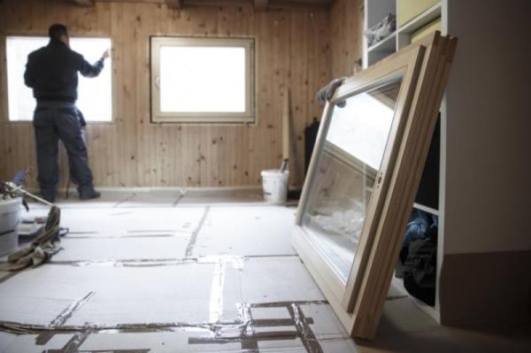 舊窗換新窗工法分別為乾式施工法與濕式施工法
