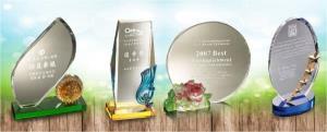 水晶琉璃獎盃獎牌訂製-你值得擁有|金金禮品社-台北獎盃獎牌訂製服務
