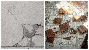 運用磁磚修補解決隆起、爆裂、脫落問題|台中協毅地磚工程行