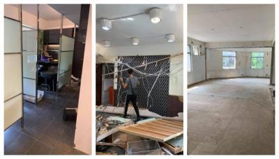【台北拆除工程】全室木作拆除-鐵梯拆除-地面見底|建成拆除工程