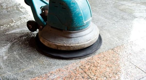 石材美容必須使用專用器具,才能有效清潔保養