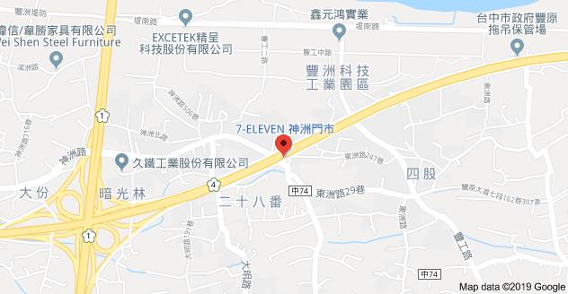 台中大豐人力派遣地圖